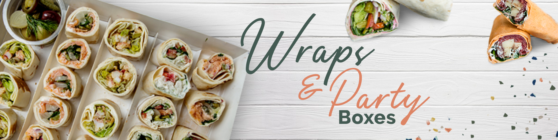 Sandwiches, Wraps & Party Boxes